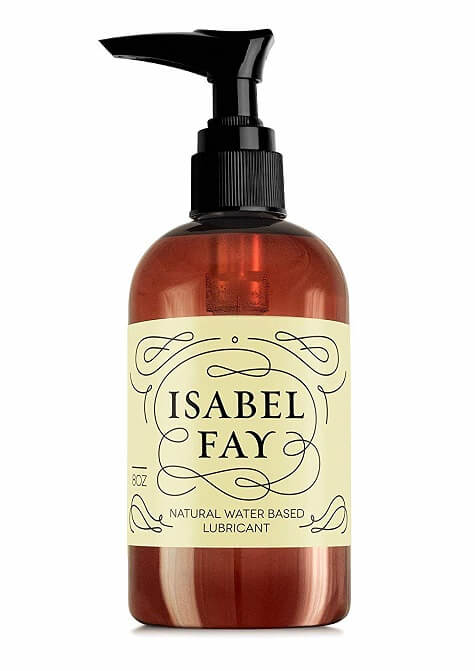 Isabel Fay natural water-based lube for sex