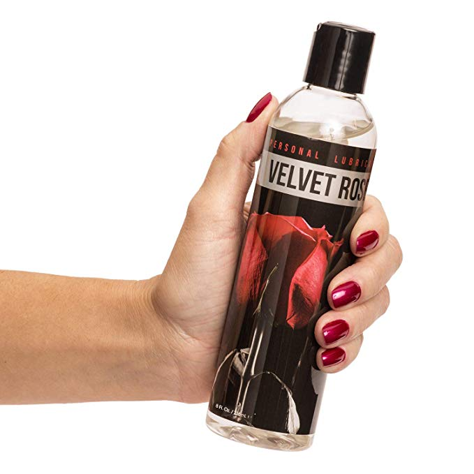 velvet rose water based lube for sex