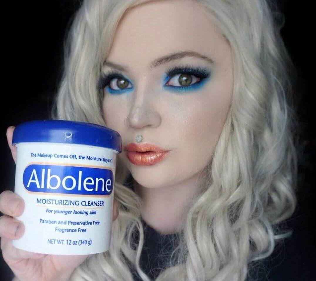Can Albolene be used as lube