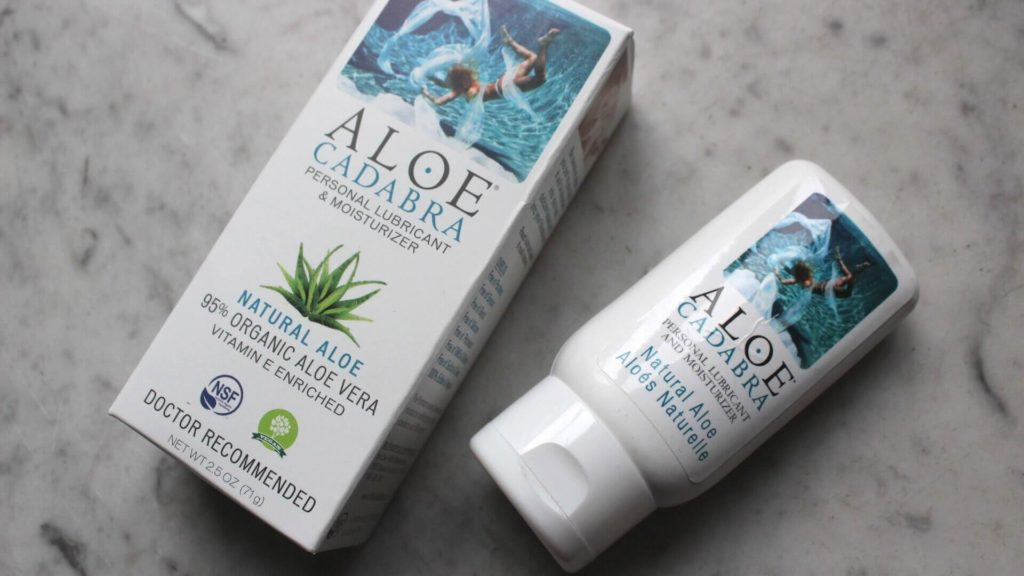 ALOE CADABRA - Do you need to wash off Lube?