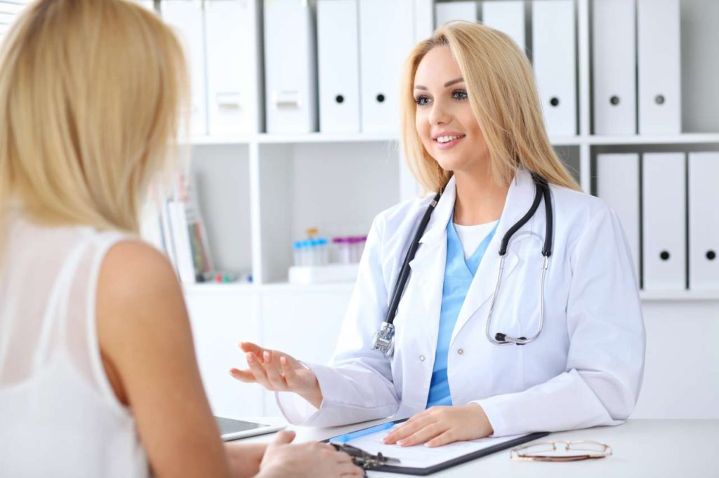 Visit a doctor to check your vaginal area for any abnormalities
