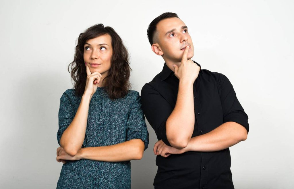 couple wondering what went wrong