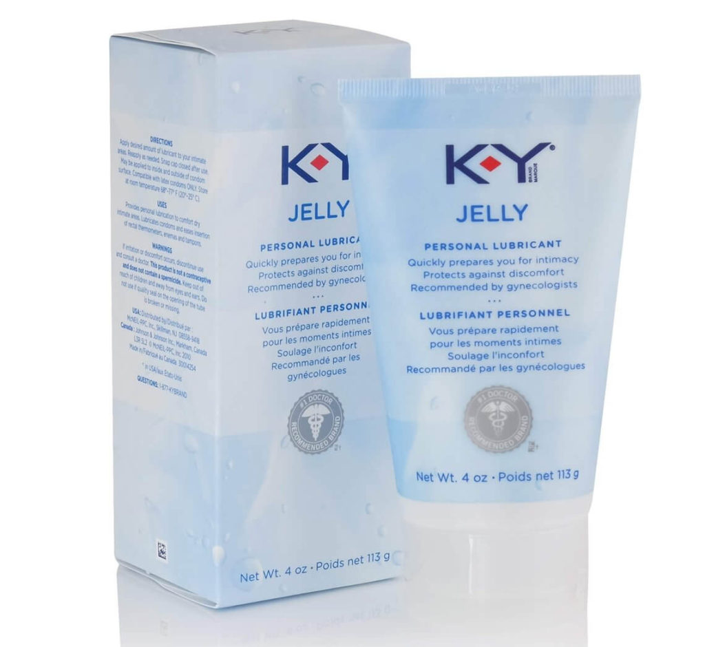 k-y jelly water based lube