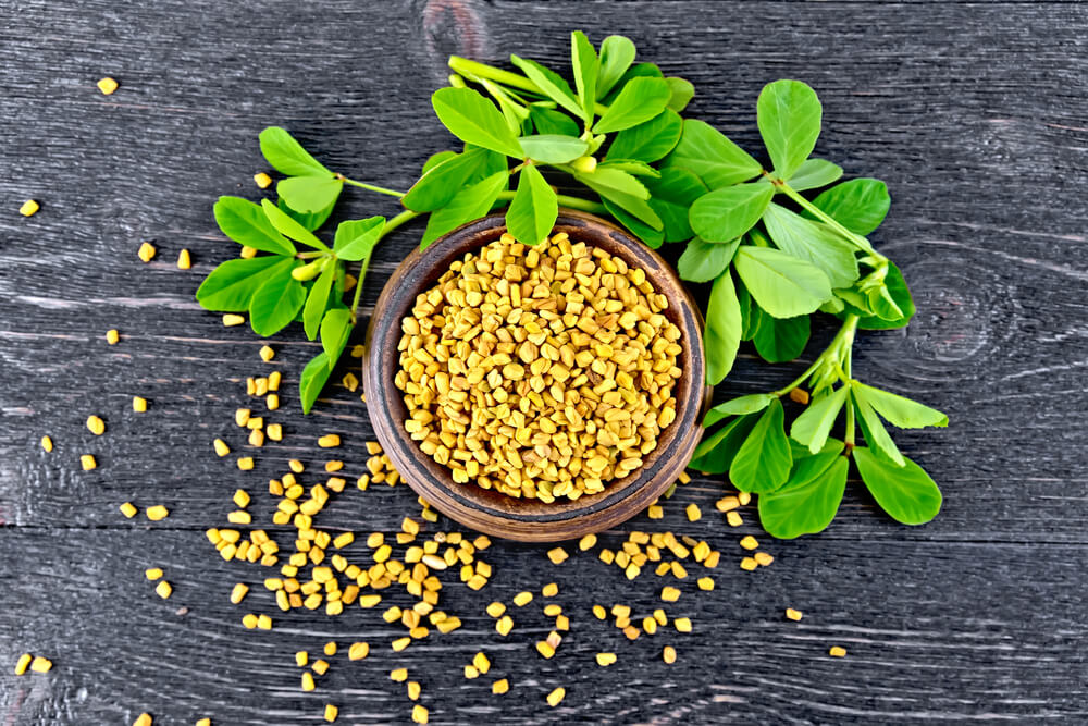 Consuming fenugreek to boost your bust