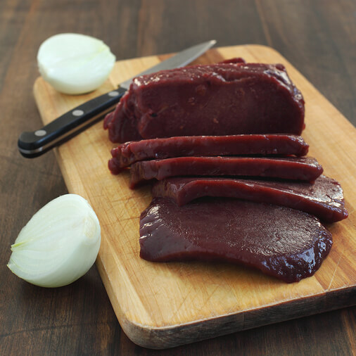 cow liver - best foods to get pregnant naturally with PCOS