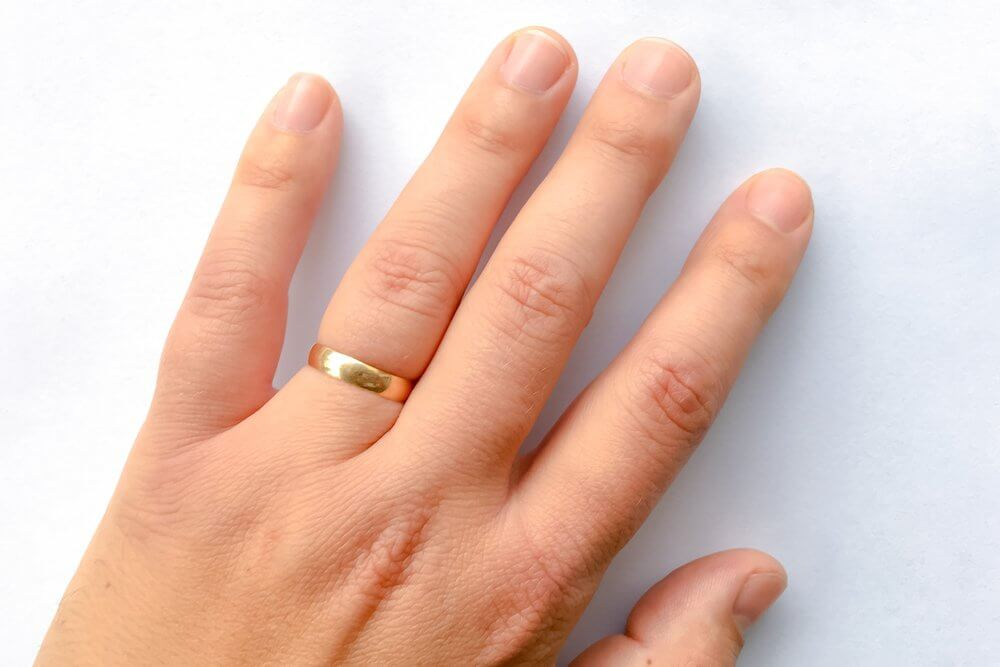 non-sexual lube uses - remove stuck wedding ring