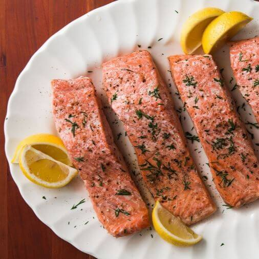 Foods for bigger buttocks 1 : Salmon