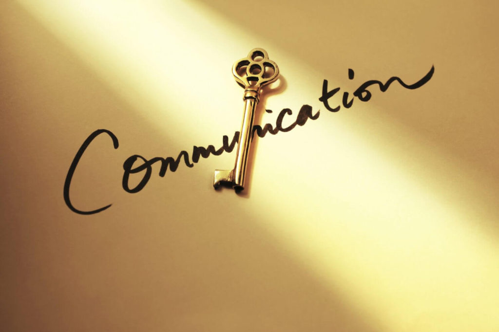 communication is the key so a successful relationship