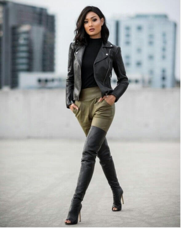 Sexy high heels boots for professional dresswear