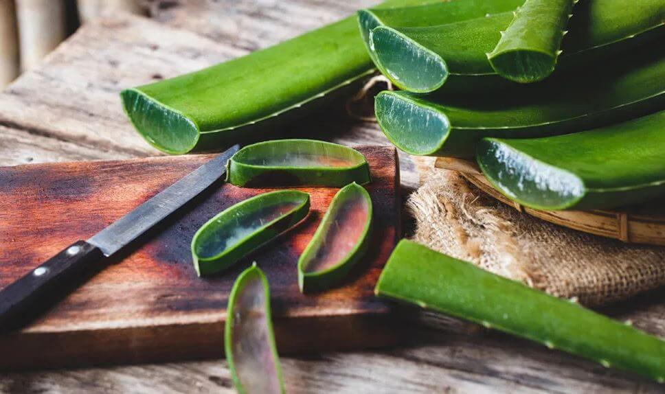 aloe vera for treating vaginal dryness and to ease painful sex